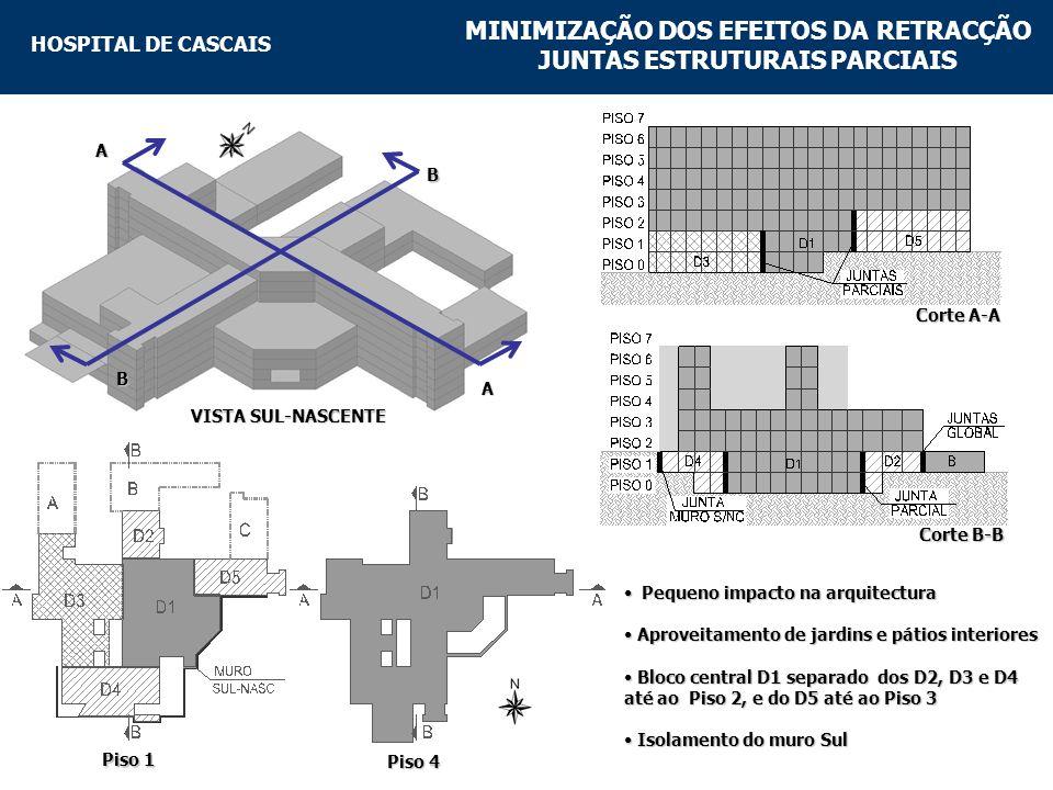 MINIMIZAÇÃO DOS EFEITOS DA RETRACÇÃO JUNTAS ESTRUTURAIS PARCIAIS