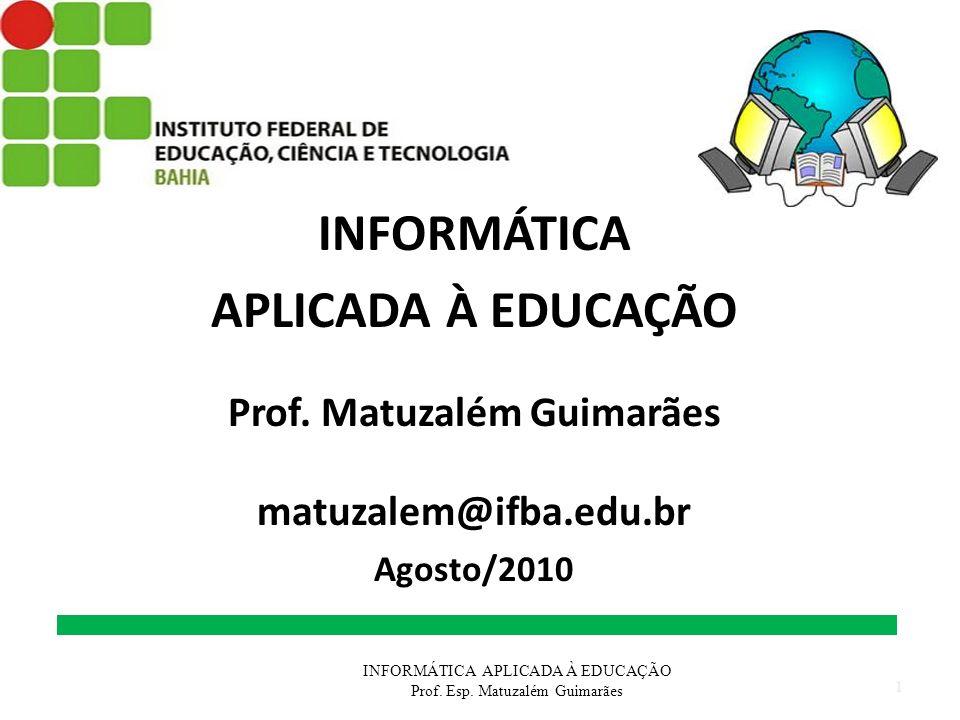 Prof. Matuzalém Guimarães