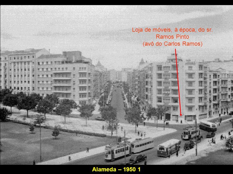 Loja de móveis, à época, do sr. Ramos Pinto (avô do Carlos Ramos)