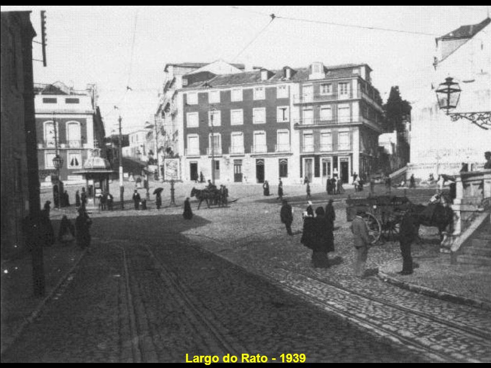 Largo do Rato - 1939
