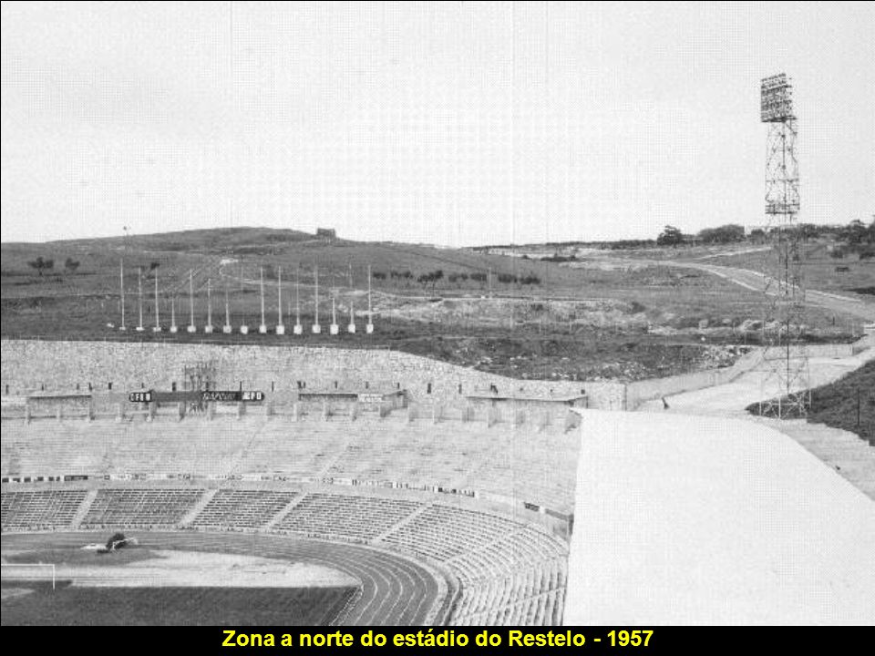 Zona a norte do estádio do Restelo - 1957