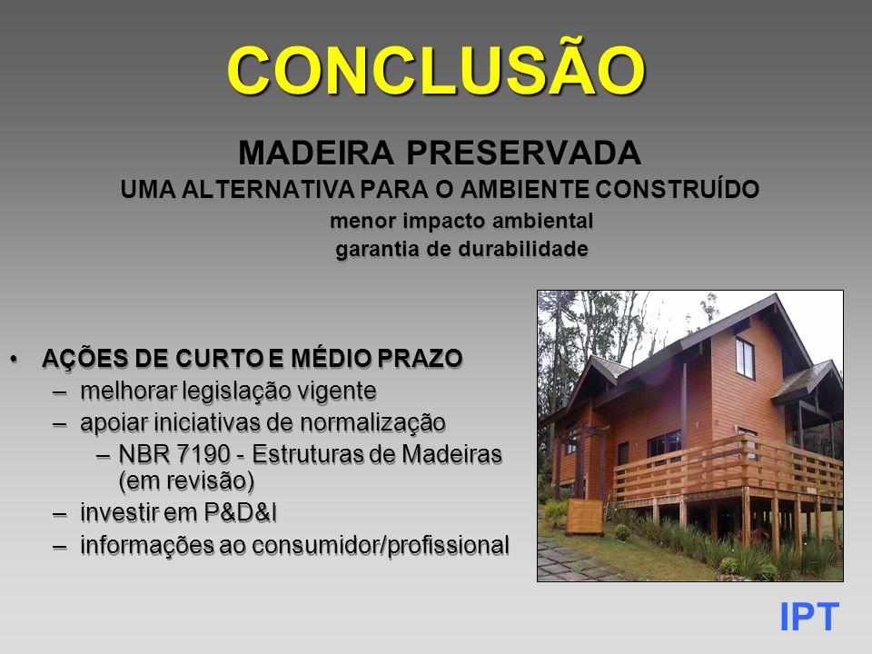 CONCLUSÃO MADEIRA PRESERVADA