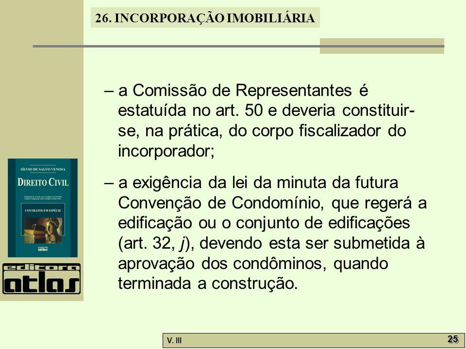– a Comissão de Representantes é estatuída no art