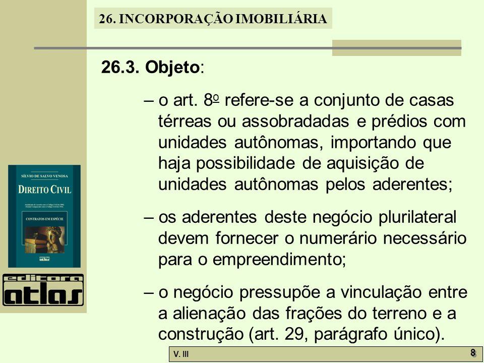 26.3. Objeto: