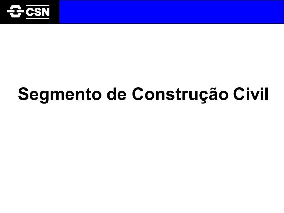 Segmento de Construção Civil