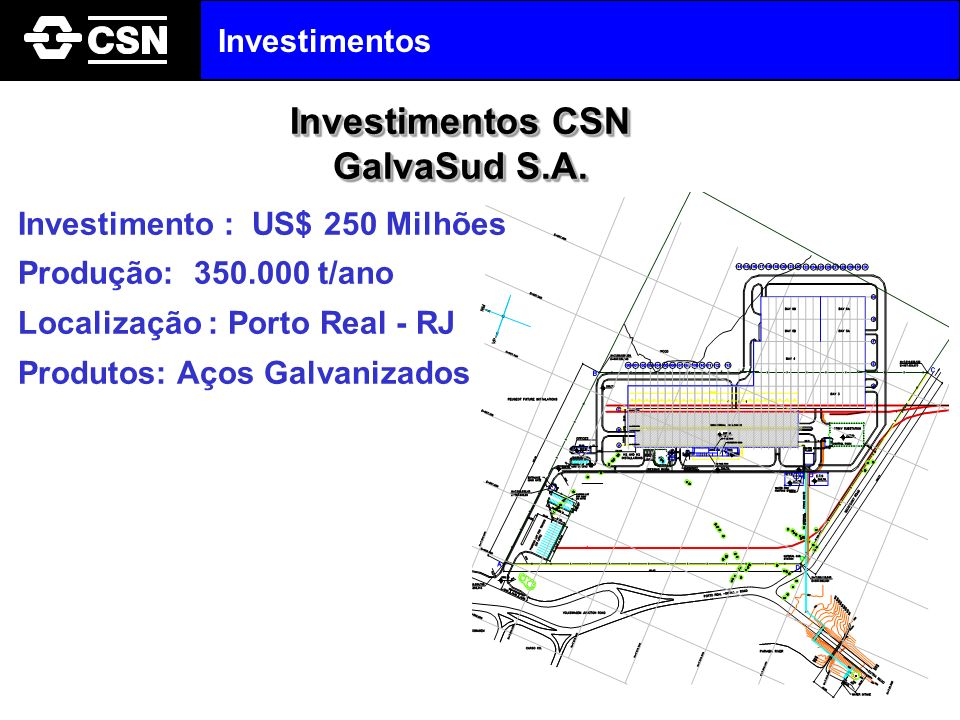 Investimentos CSN GalvaSud S.A.