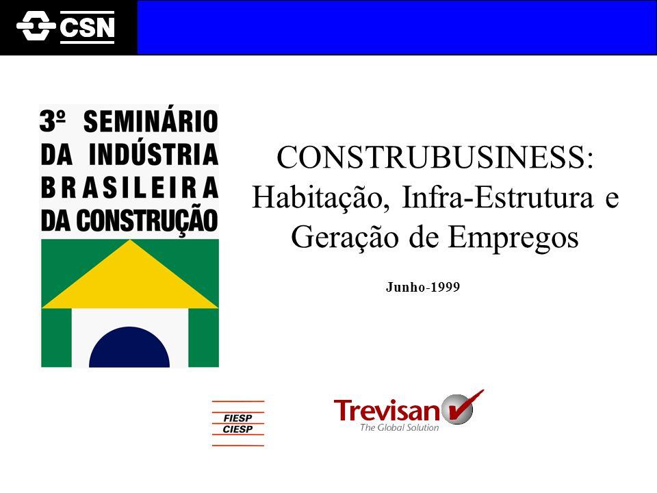 CONSTRUBUSINESS: Habitação, Infra-Estrutura e Geração de Empregos