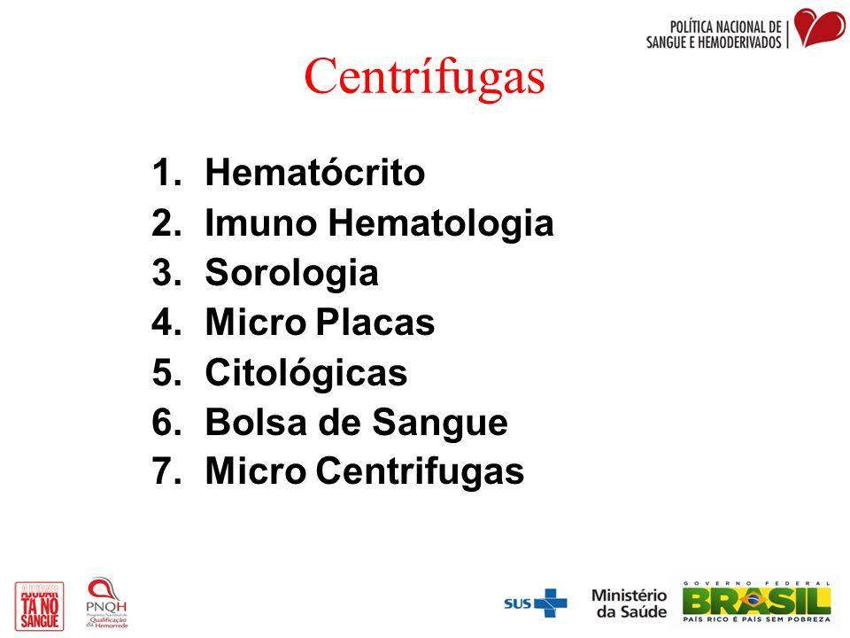 Centrífugas Hematócrito Imuno Hematologia Sorologia Micro Placas