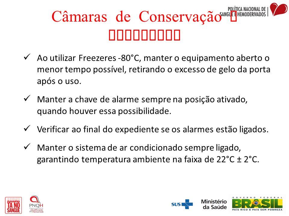 Câmaras de Conservação e Freezeres