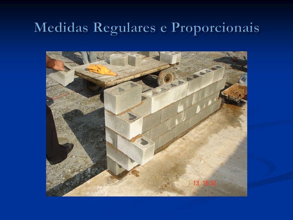 Medidas Regulares e Proporcionais