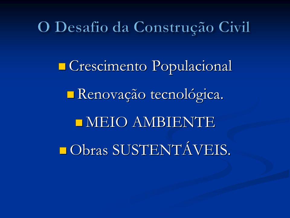 O Desafio da Construção Civil