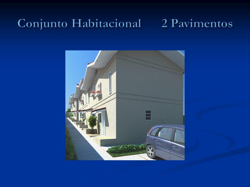 Conjunto Habitacional 2 Pavimentos