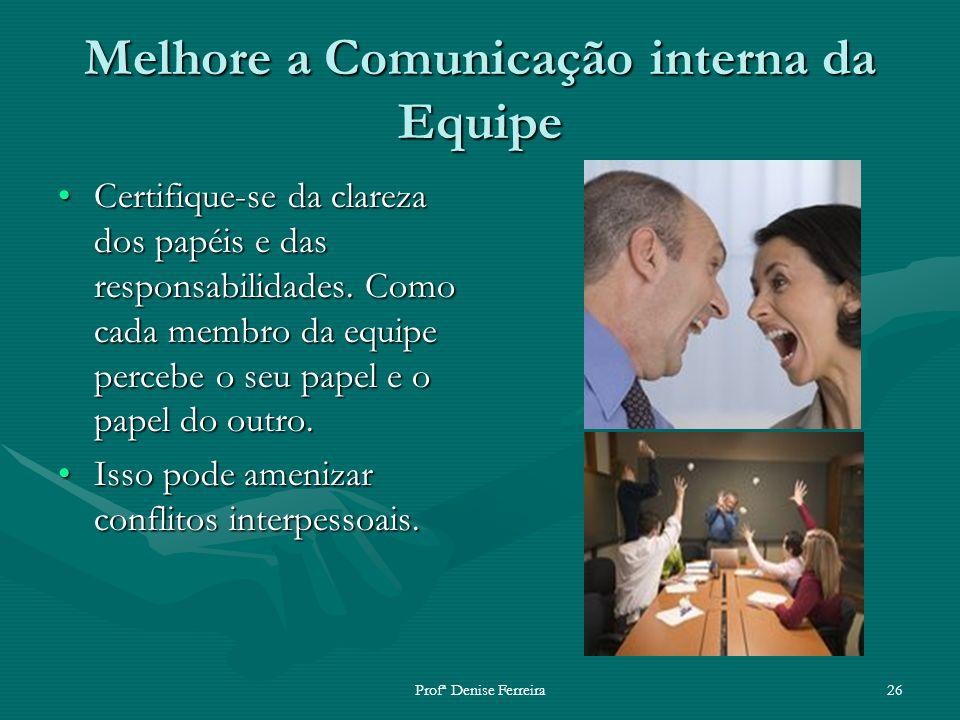Melhore a Comunicação interna da Equipe