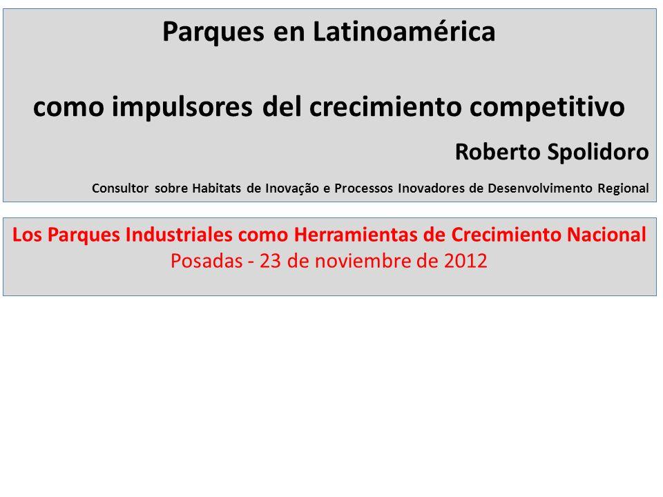 Parques en Latinoamérica como impulsores del crecimiento competitivo