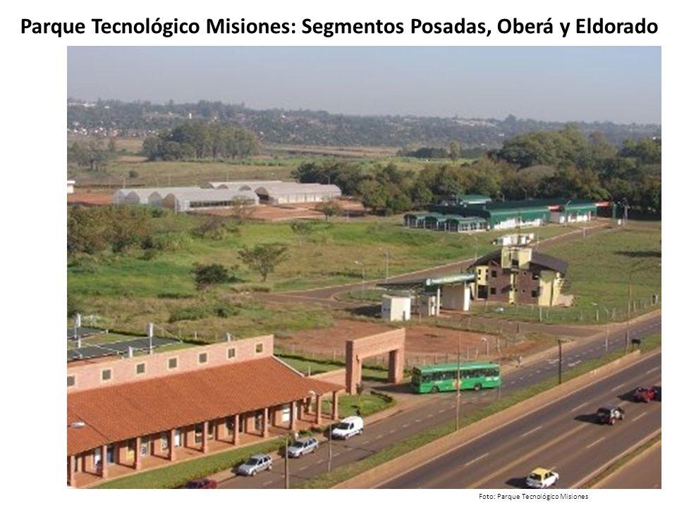 Parque Tecnológico Misiones: Segmentos Posadas, Oberá y Eldorado