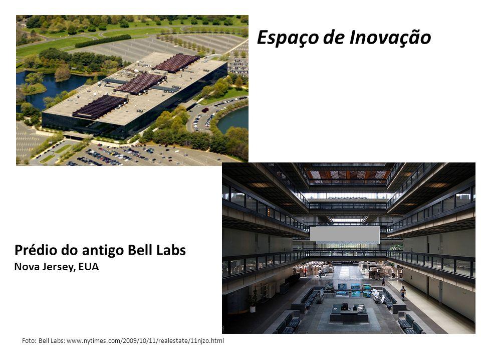 Espaço de Inovação Prédio do antigo Bell Labs Nova Jersey, EUA
