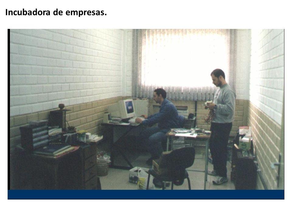 Incubadora de empresas.