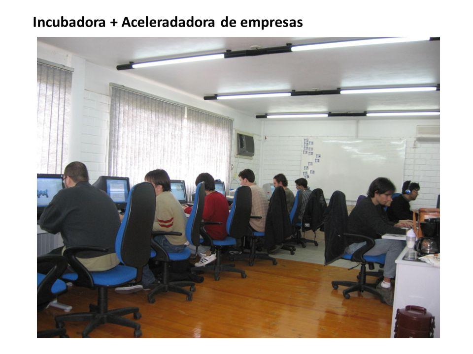 Incubadora + Aceleradadora de empresas
