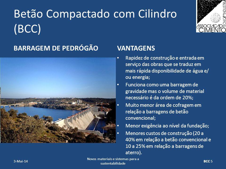Betão Compactado com Cilindro (BCC)