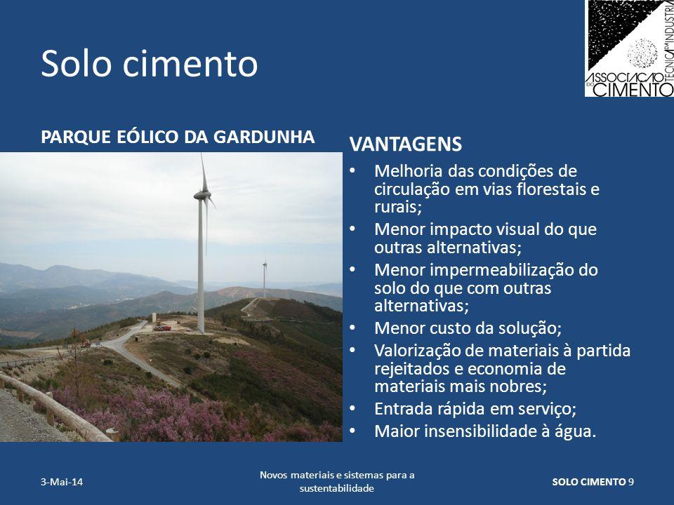 Novos materiais e sistemas para a sustentabilidade