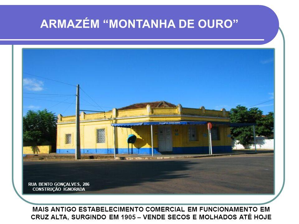 ARMAZÉM MONTANHA DE OURO