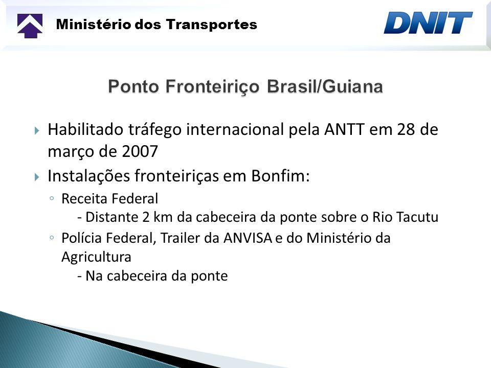 Ponto Fronteiriço Brasil/Guiana