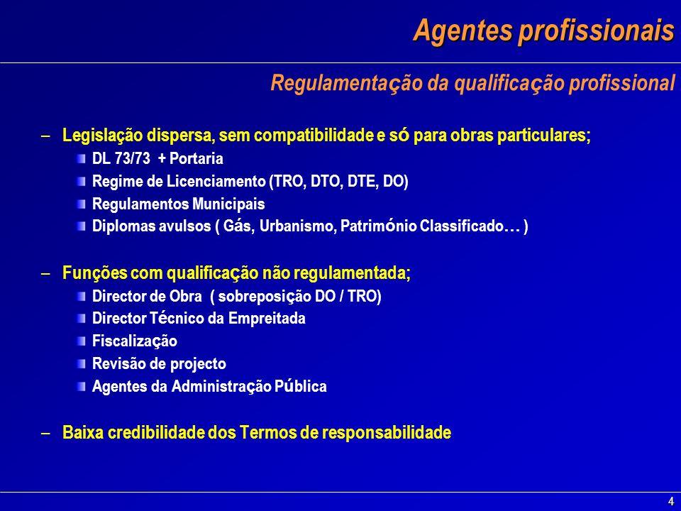 Agentes profissionais