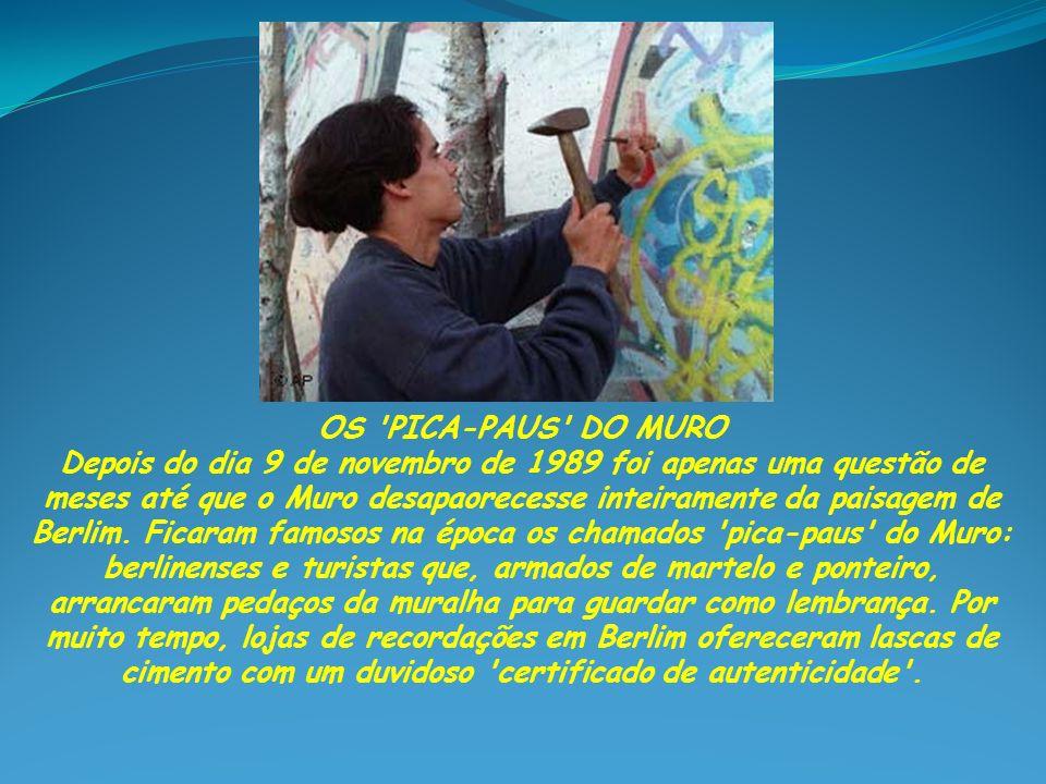 OS PICA-PAUS DO MURO