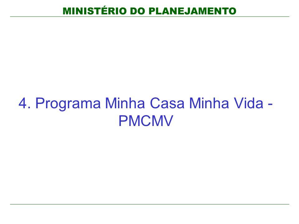 4. Programa Minha Casa Minha Vida - PMCMV
