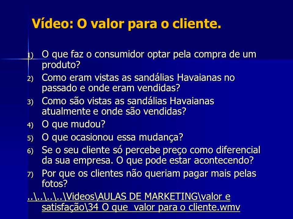 Vídeo: O valor para o cliente.