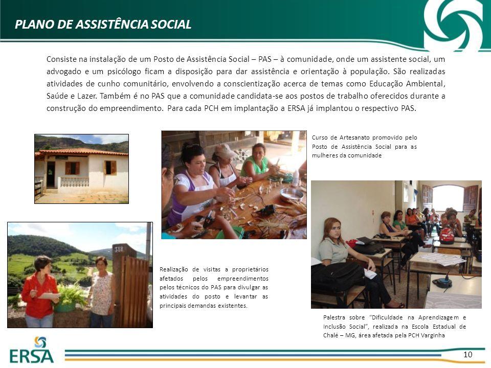 PLANO DE ASSISTÊNCIA SOCIAL