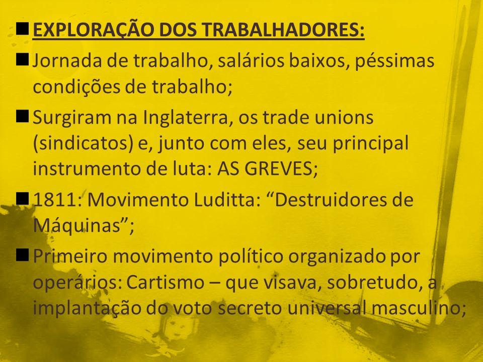 EXPLORAÇÃO DOS TRABALHADORES:
