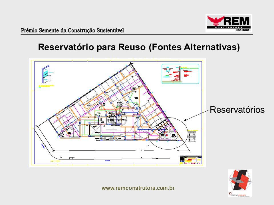 Reservatório para Reuso (Fontes Alternativas)