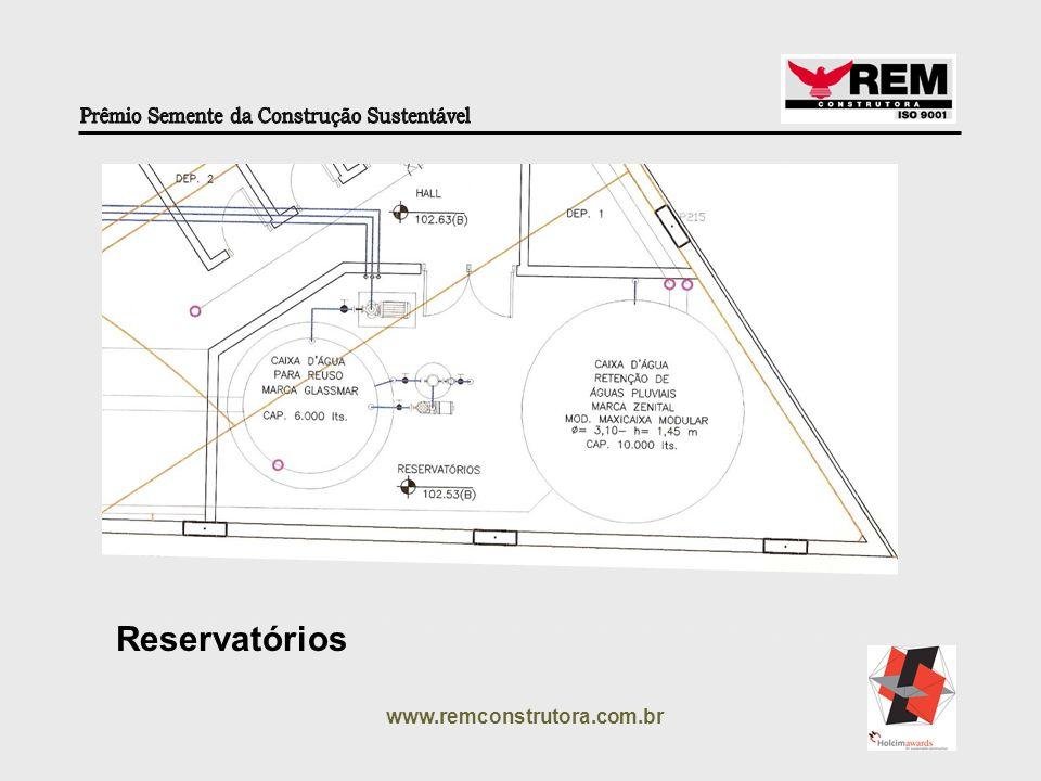 Reservatórios www.remconstrutora.com.br