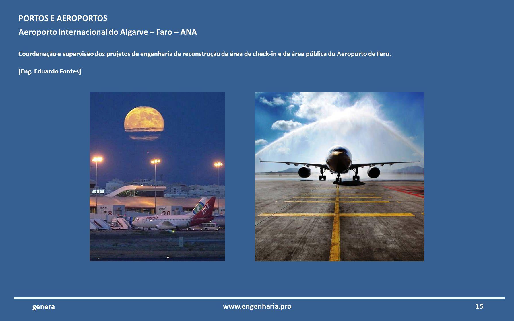 Aeroporto Internacional do Algarve – Faro – ANA