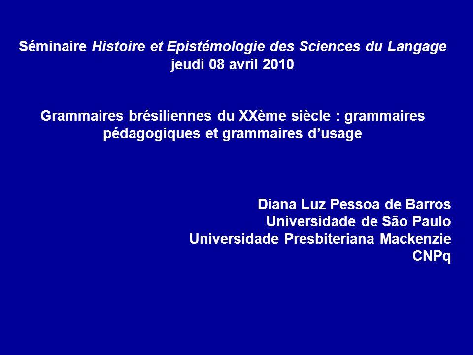 Séminaire Histoire et Epistémologie des Sciences du Langage