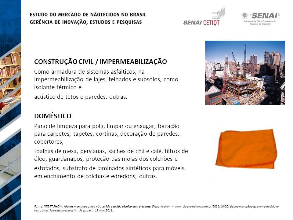 CONSTRUÇÃO CIVIL / IMPERMEABILIZAÇÃO
