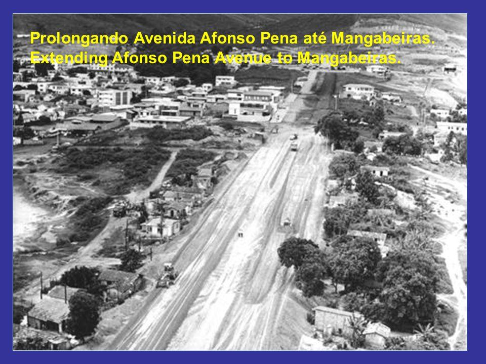 Prolongando Avenida Afonso Pena até Mangabeiras