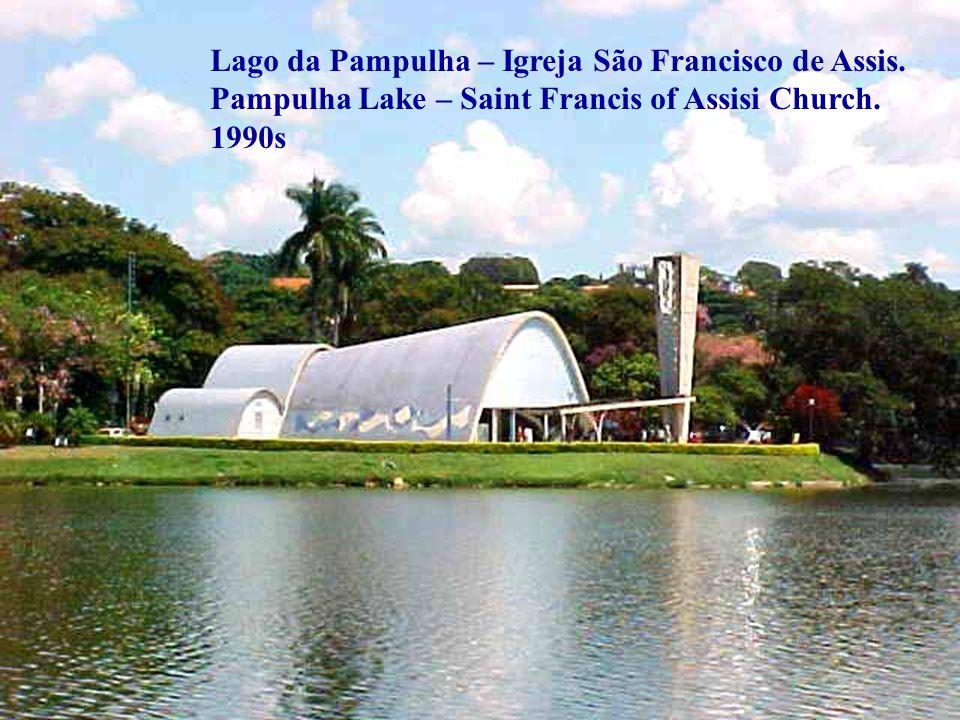 Lago da Pampulha – Igreja São Francisco de Assis