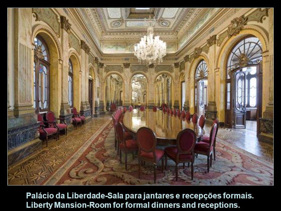 Palácio da Liberdade-Sala para jantares e recepções formais
