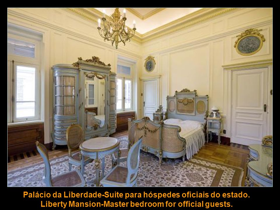Palácio da Liberdade-Suite para hóspedes oficiais do estado