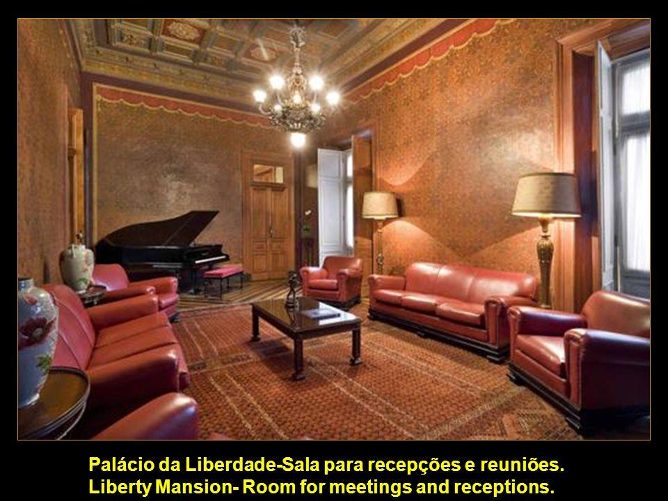 Palácio da Liberdade-Sala para recepções e reuniões
