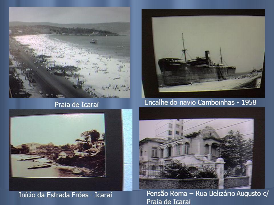 Encalhe do navio Camboinhas - 1958