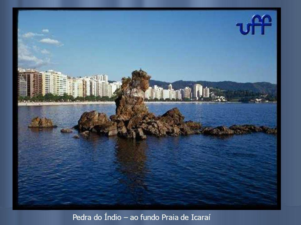 Pedra do Índio – ao fundo Praia de Icaraí