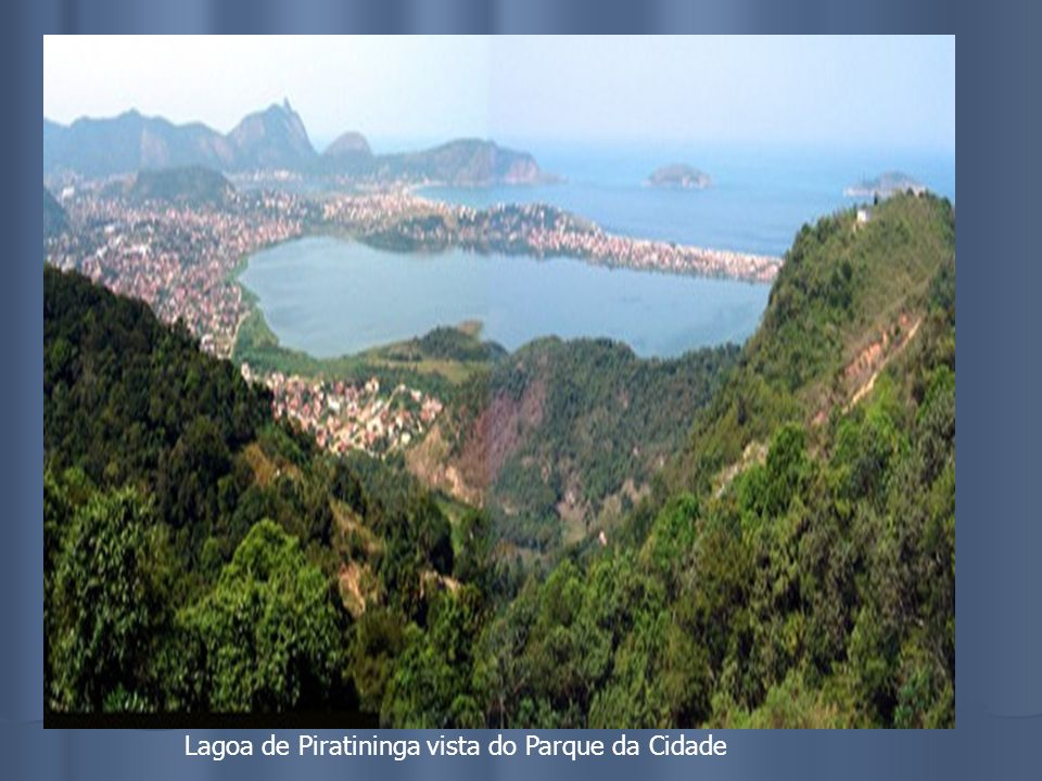 Lagoa de Piratininga vista do Parque da Cidade