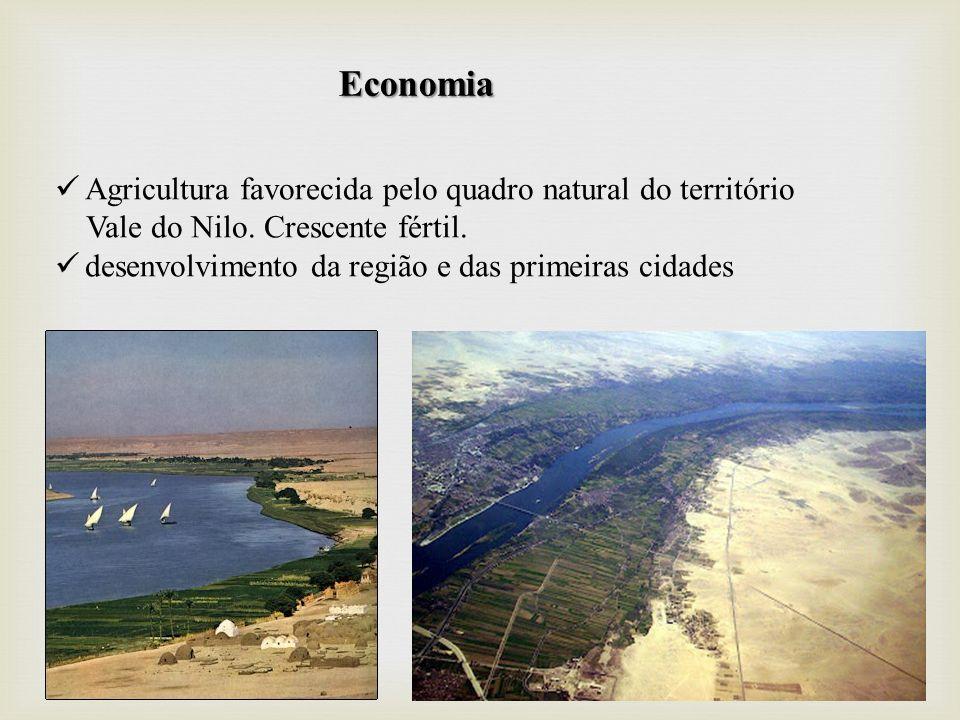 Economia Agricultura favorecida pelo quadro natural do território