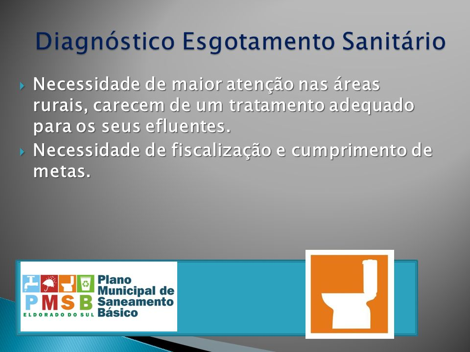 Diagnóstico Esgotamento Sanitário