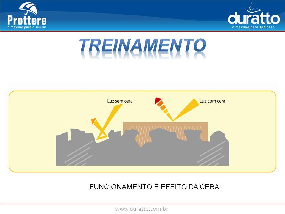 TREINAMENTO FUNCIONAMENTO E EFEITO DA CERA