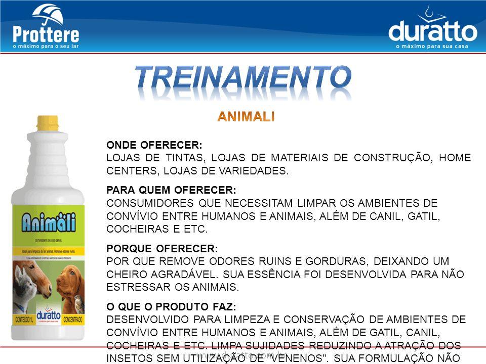 TREINAMENTO ANIMALI ONDE OFERECER: