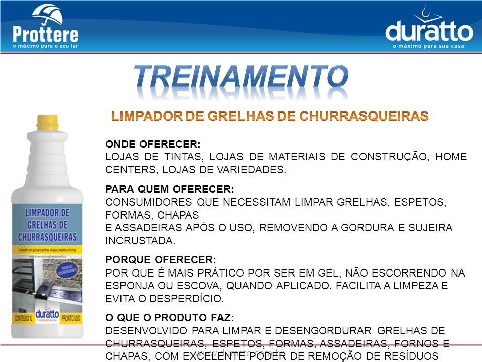 TREINAMENTO LIMPADOR DE GRELHAS DE CHURRASQUEIRAS ONDE OFERECER: